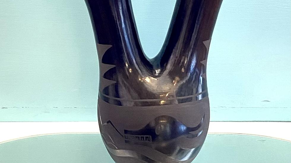 Santa Clara wedding vase pot