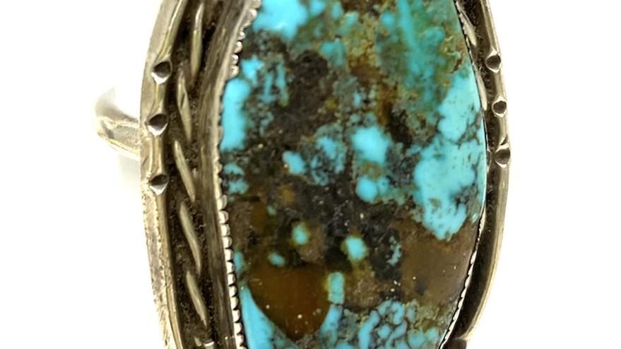 Turquoise Navajo ring