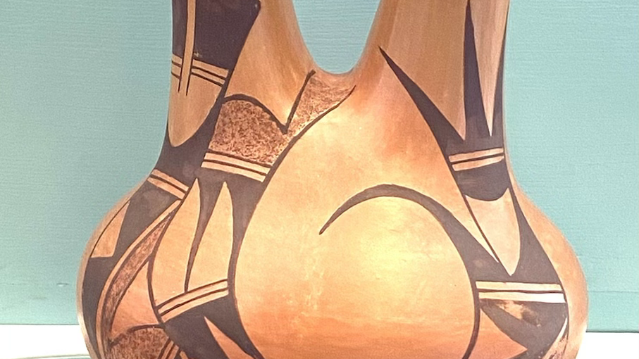 Hopi wedding vase pot