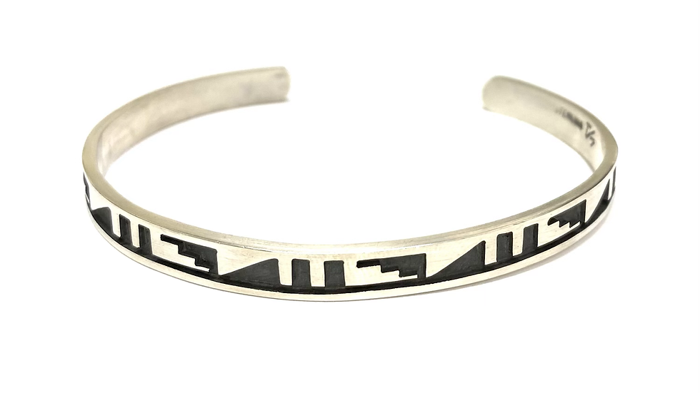 Hopi cuff silver