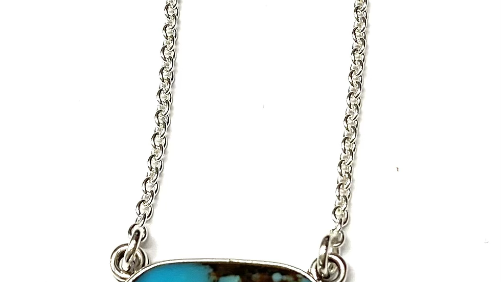 Turquoise necklace 18 inches