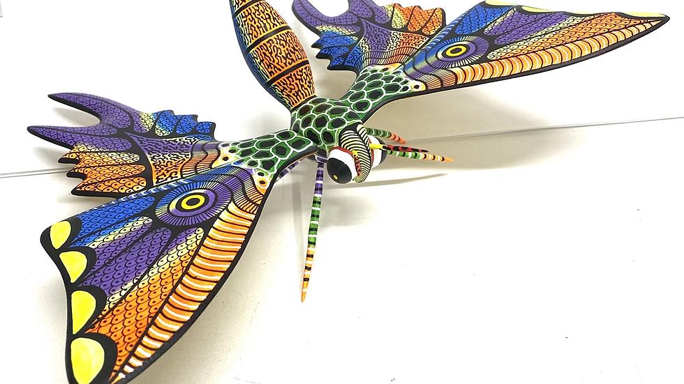 Moth Oaxacan Alebrije