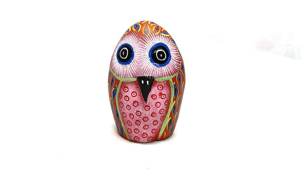 Red Owl Oaxacan Alebrije