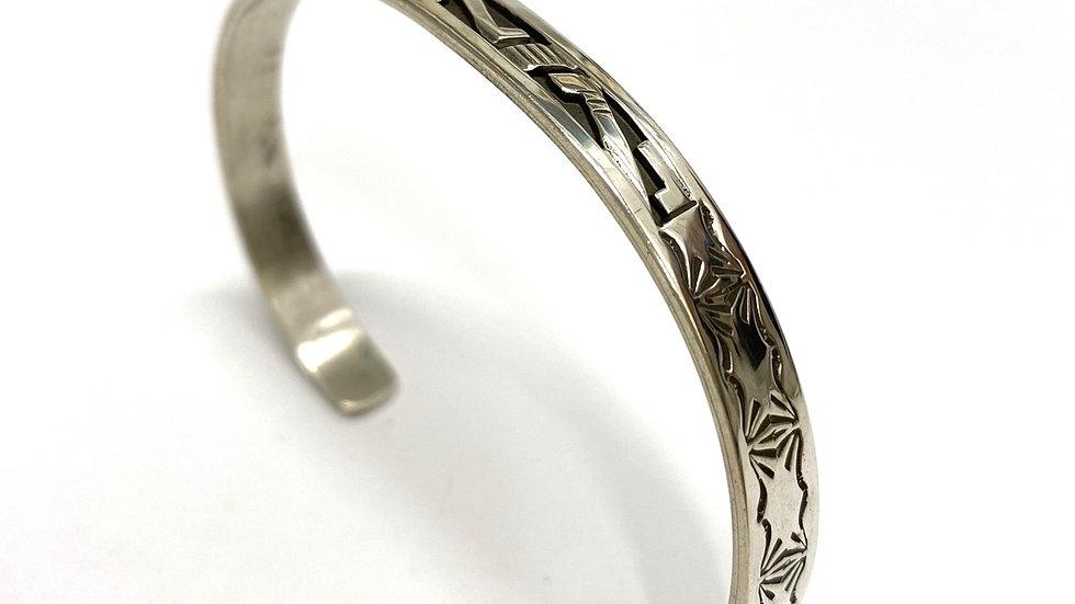 Bracelet Navajo overlay