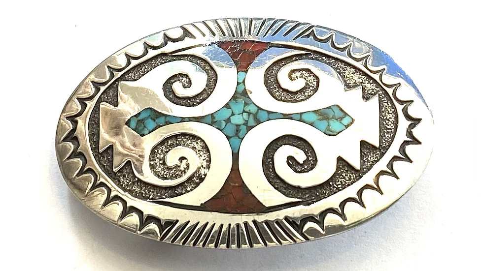 Chip inlay small buckle