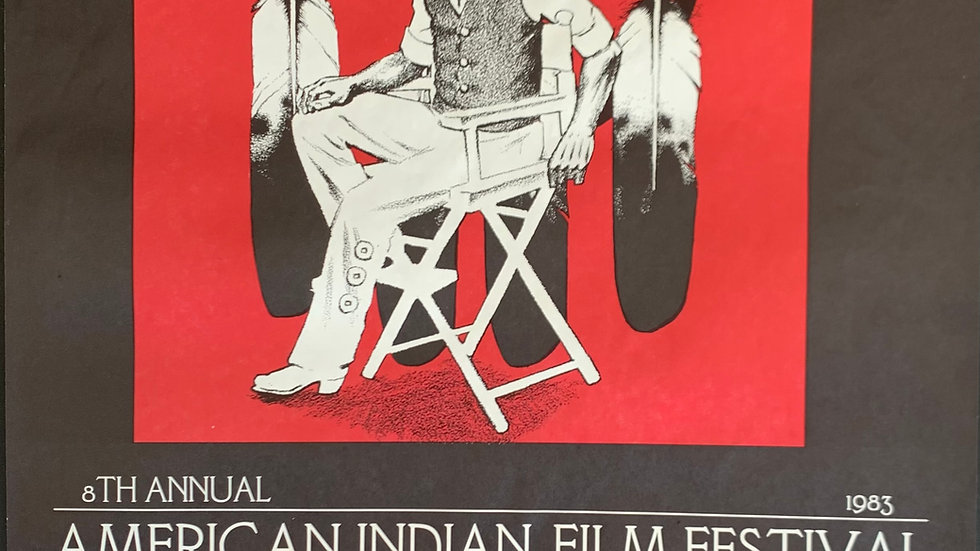 8th Annual American Indian Film Festival Poster