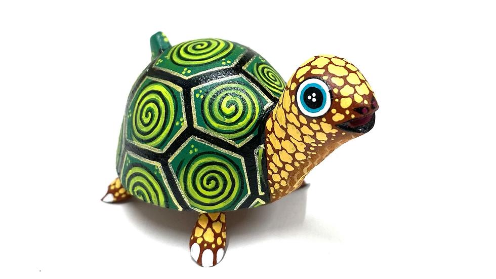 Green turtle Oaxacan Alebrije
