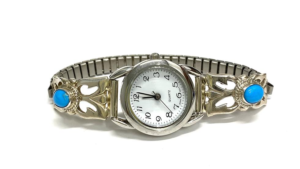 Turquoise watch bracelet