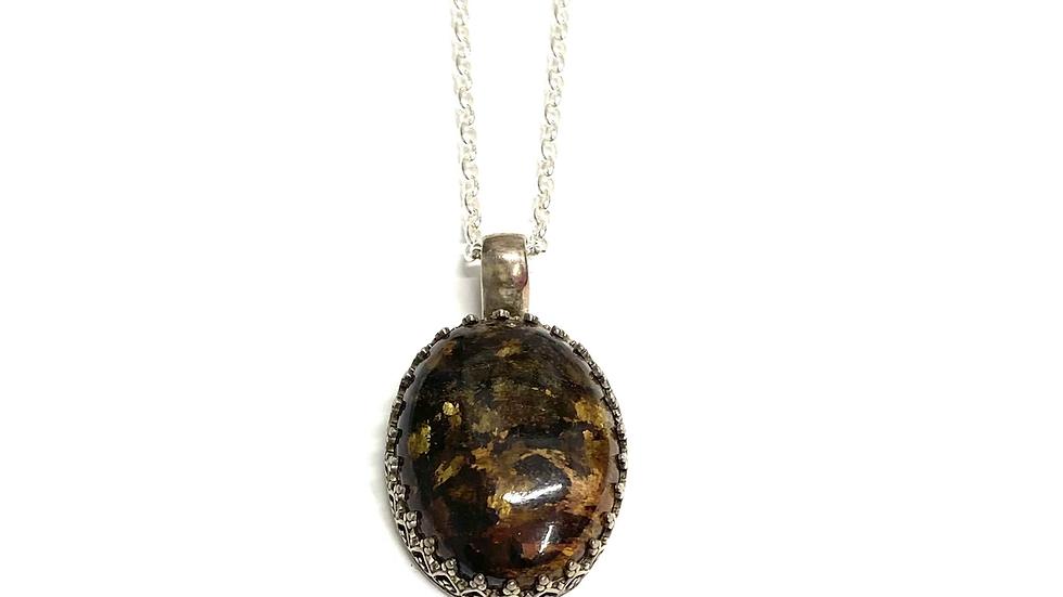 Petersite pendant