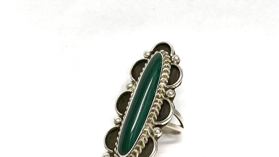 Green Malachite ring