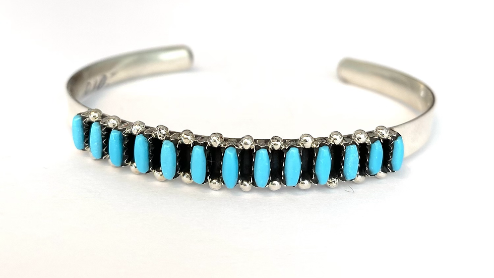Turquoise Petit Point bracelet