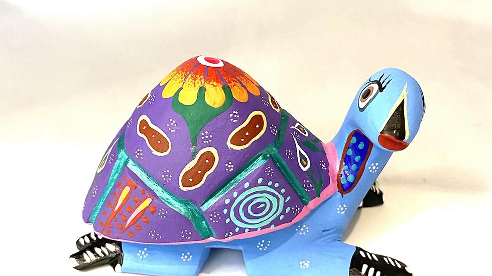 Blue Turtle Oaxacan Alebrije