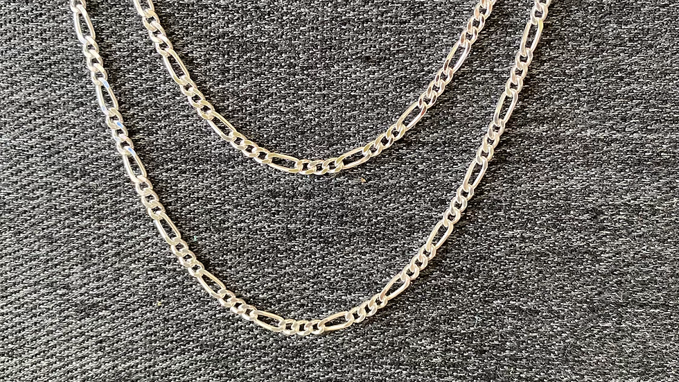 "9"" Figaro bracelet"