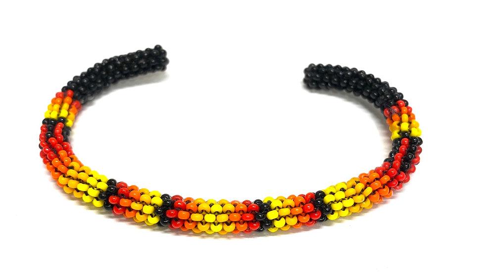 Black fire bracelet