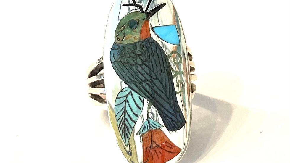 Humming bird ring