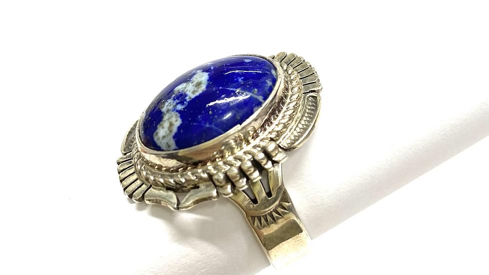 Sodalite silver ring