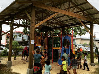New Playground at the Pohnpei Public Library