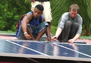 Solar Project in Pakin