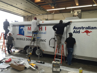 New Mobile Dental Clinic for Pohnpei