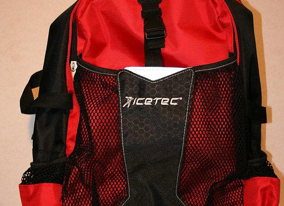 Icetec rugzak rood