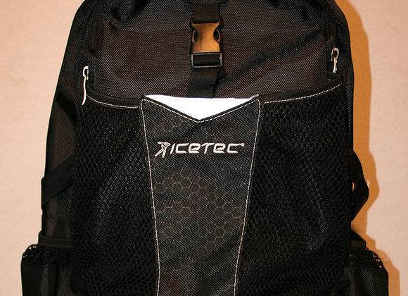 Icetec rugzak zwart