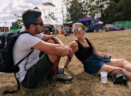 Northern Bass Festival & aan de slag in Hamilton