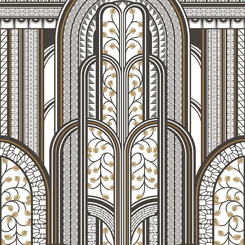 CASADECO - 1930 - PANORAMIQUE - PARAVENT NOIR/OR MNCT85879242