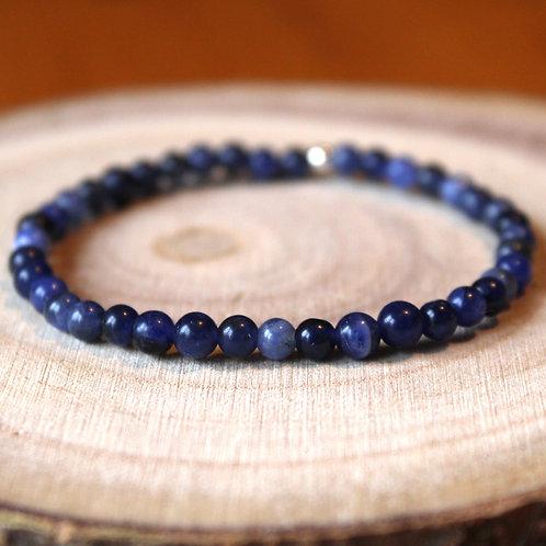 Bracelet Sodalite 4 mm
