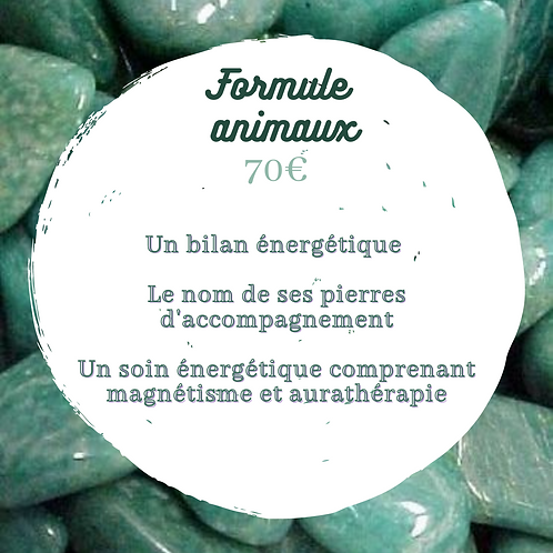 Litho + soin ~ Animaux