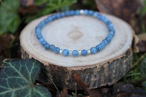 Bracelet Cyanite 4 mm