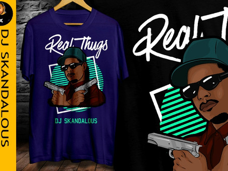 New Real Thugs Merch Released!