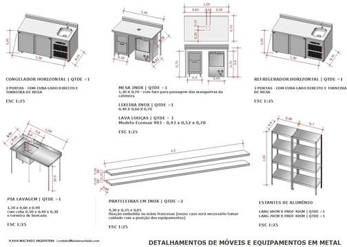 detalhes Café Civi-co | Arq. Flavia Machado