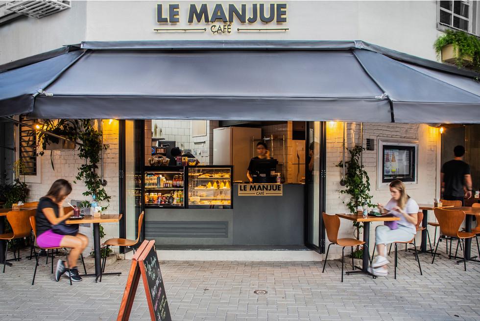Le Manjue Café - at São Paulo -  Brazil | Architect Flavia Machado