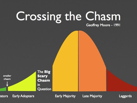 How Lessons from Crossing the Chasm can extend your reign