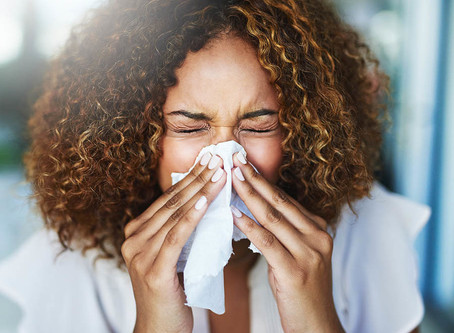 mums with hayfever