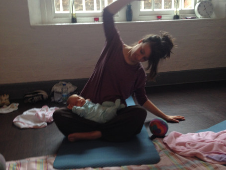 GUEST BLOG!                                           KID'S YOGA TEACHER, SARAH'S STORY