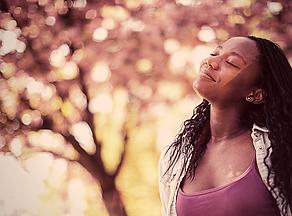woman breathe air tree.png