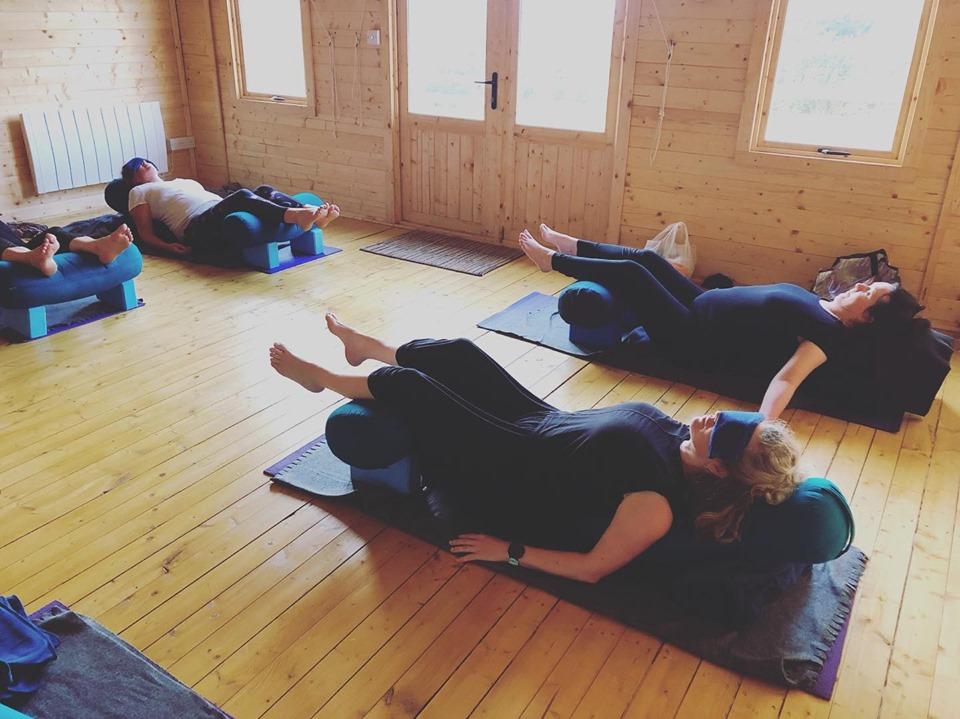 lbs brigitte restorative class lying dow