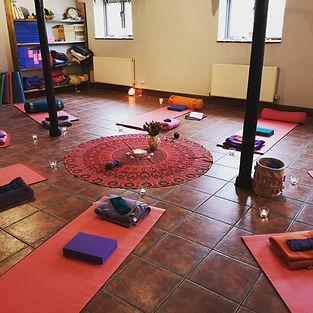 Mar 2020 IWD retreat mats set up.jpg