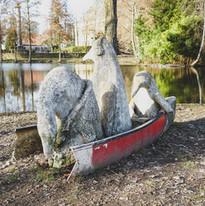 """""""Drei Pinguine im untergehenden Boot"""""""
