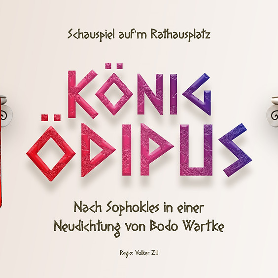 """""""König Ödipus"""" !Ausverkauft!"""