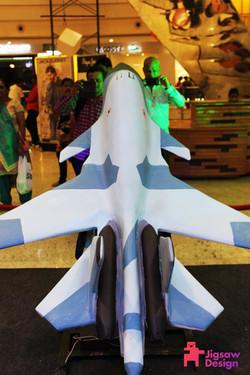 Fighter Plane-Republic Day installat