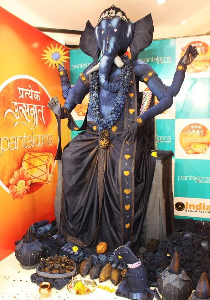 Denim Ganpati