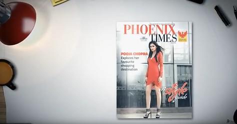 Motion Magazine - Mall Decoration Pune- Phoenix Marketcity