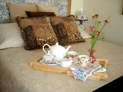 Tea Pillow Flowers Picture