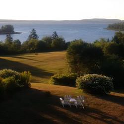 Shore landscape coast seating