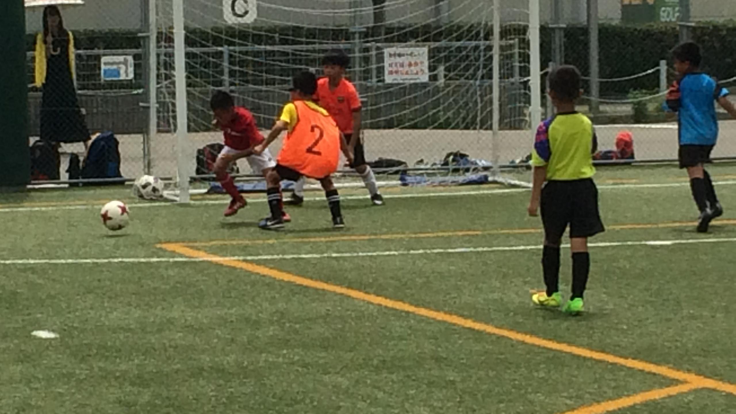 エフォートサッカースクール 明石 大蔵海岸 夏休み短期教室