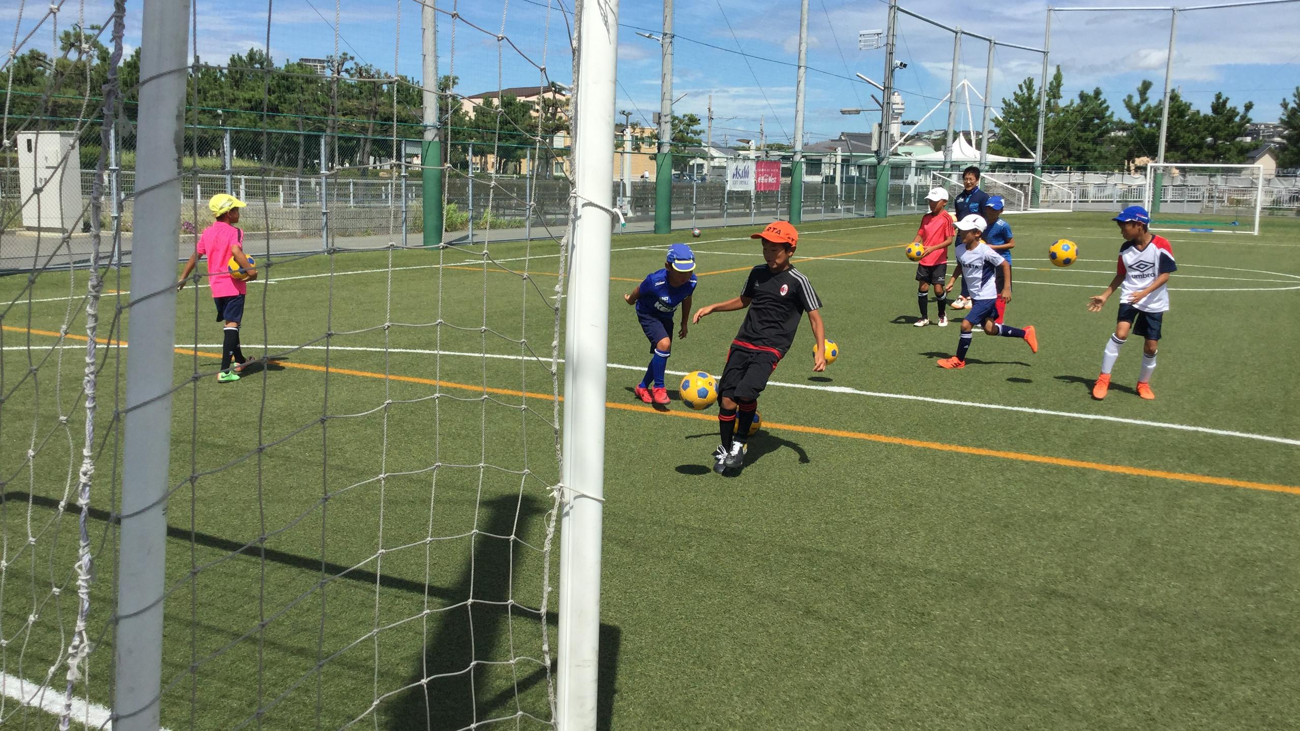 エフォートサッカースクール 明石 播磨 加古川 稲美 神戸 大蔵海岸