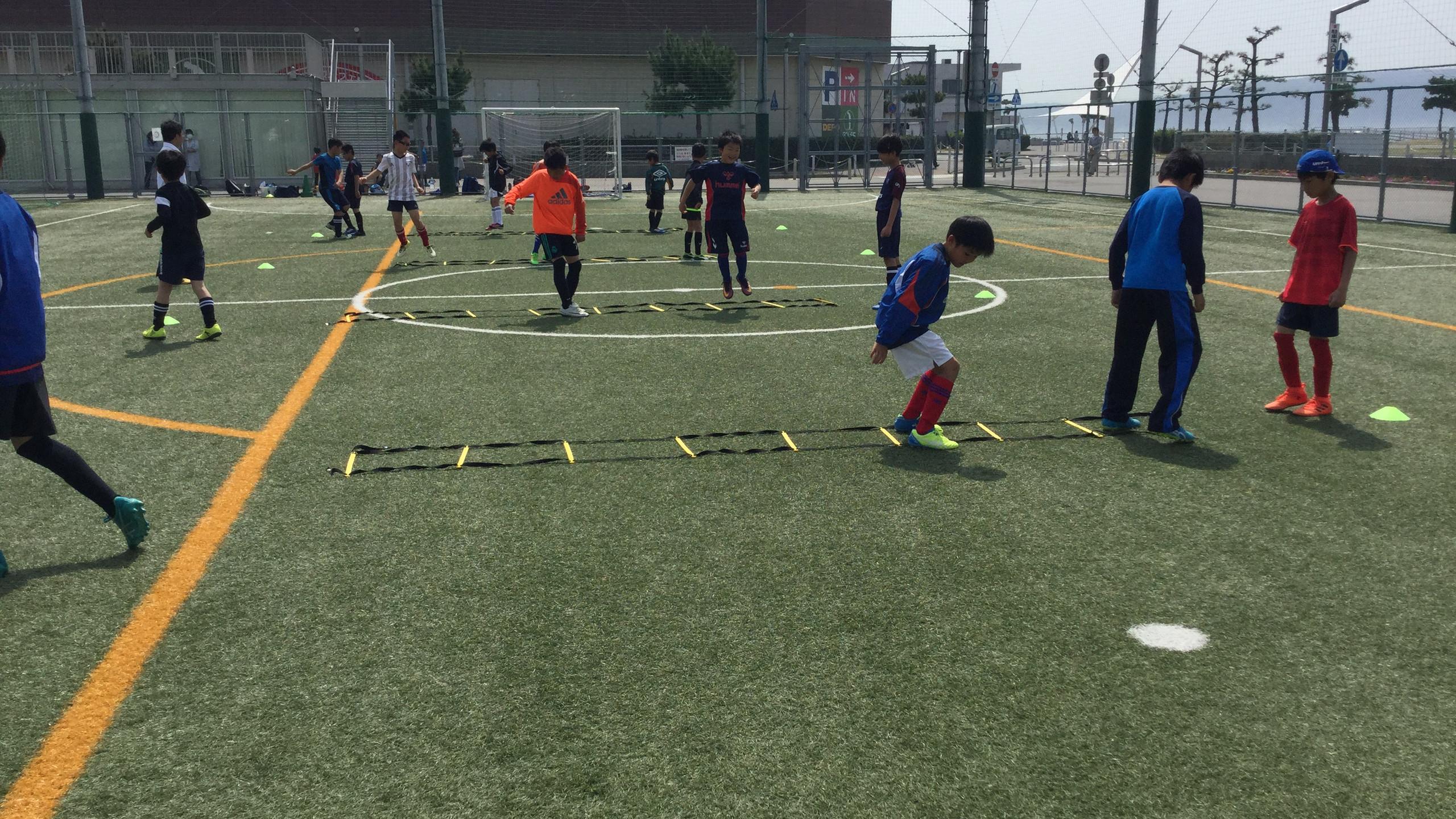 エフォートサッカースクール 明石 大蔵海岸 神戸 舞子 春休み 短期教室