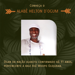 Conheça Alabè Helton d'Ogum